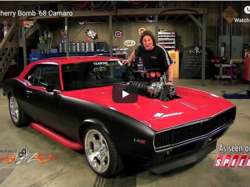 Project Car: Cherry Bomb '68 Camaro